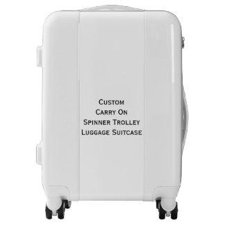El personalizado continúa la maleta del equipaje