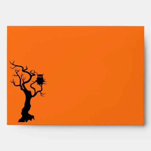 """El personalizado de Halloween envuelve 7 el ¼"""" ¼ d Sobre"""