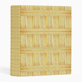 el personalizado de madera de madera del palillo mini carpeta