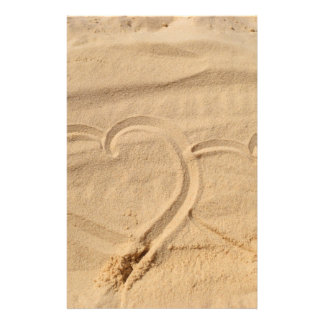 el personalizado del amor del corazón personaliza papelería personalizada