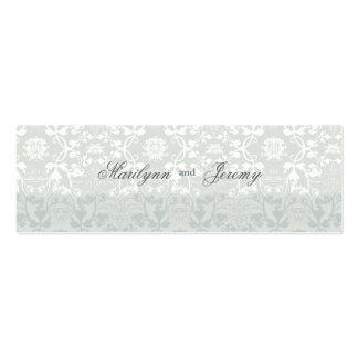 El personalizado del sueño del cordón de los tarjetas de visita mini