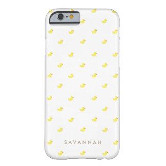 El   personalizado Duckies de goma Funda Barely There iPhone 6