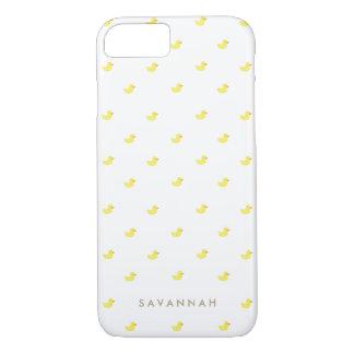 El   personalizado Duckies de goma Funda iPhone 7