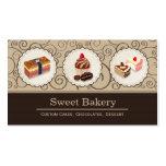 El personalizado dulce de la tienda de la tarjetas de visita