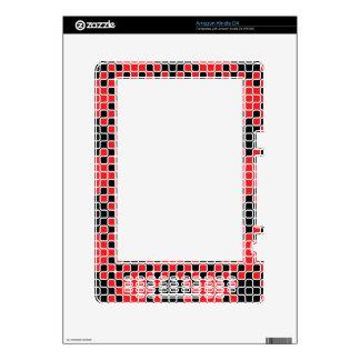 El personalizado el Amazonas del Squiggle 01 del o Calcomanías Para Kindle DX