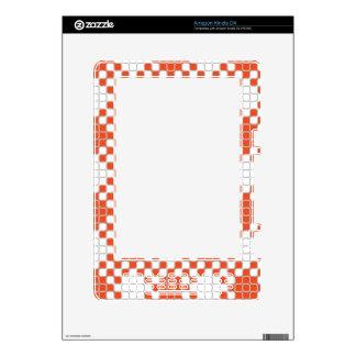 El personalizado el Amazonas del Squiggle 05 del o Skins Para Kindle