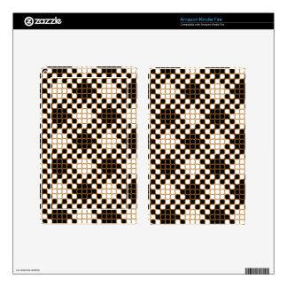 El personalizado el Amazonas del Squiggle 8 del or Pegatina Skin Para Kindle Fire