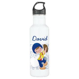 El personalizado embroma la botella de los