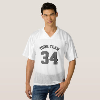 El personalizado hace jersey del fútbol su número