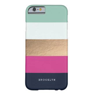 El | personalizado Heues brillante Funda De iPhone 6 Barely There