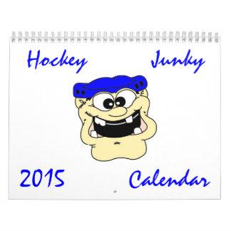 El personalizado imprimió el calendario 2015 del