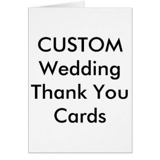 """El personalizado le agradece carda 4"""" x 5,6"""" tarjeta pequeña"""