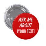 El personalizado me pregunta acerca del botón