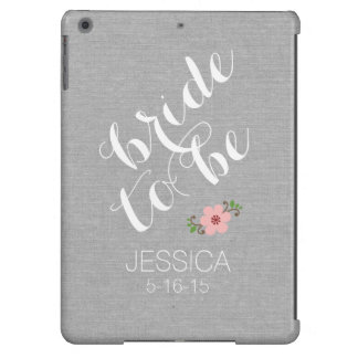 El personalizado personalizó a la novia para ser funda para iPad air