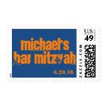 El personalizado personalizó el sello de Mitzvah