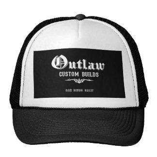 El personalizado proscrito construye el casquillo  gorras de camionero