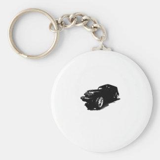 El personalizado rueda los regalos negros de las c llavero redondo tipo pin