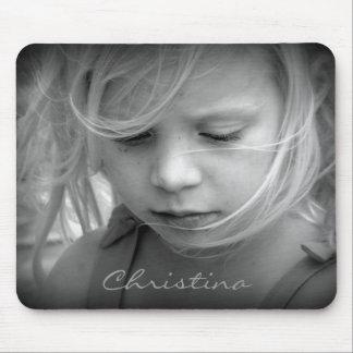 El personalizado su foto personalizó a los chicas  tapetes de ratón
