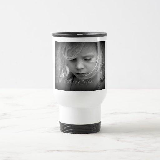 El personalizado su foto personalizó a los chicas  tazas de café