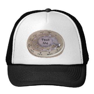 El personalizar con su decir o guarda el texto yo gorras