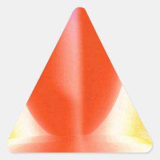 El personalizar fácil de la PLANTILLA AÑADE la Calcomanía Trianguloada
