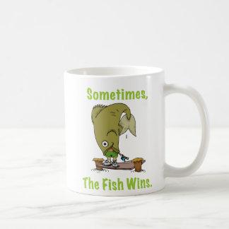 El pescado gana a veces la taza