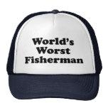 El pescador peor del mundo gorro de camionero