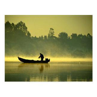 El pescador tarjetas postales
