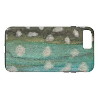 El pescar con caña del carbón de leña de funda iPhone 7 plus