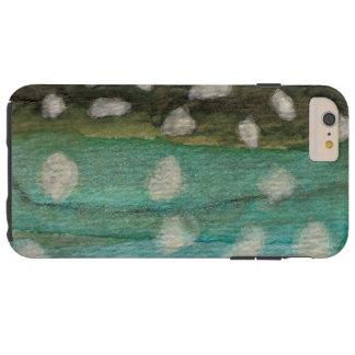 El pescar con caña del carbón de leña de funda resistente iPhone 6 plus
