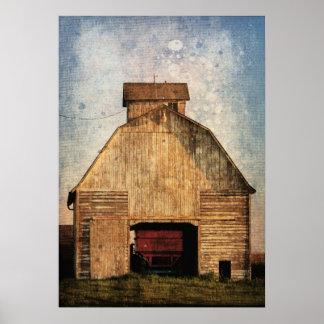 El pesebre del maíz póster