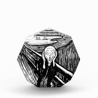 El peso de papel del grito de Edvard Munch