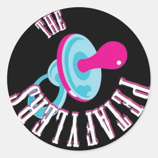 El Petafylers (círculo) Pegatina Redonda