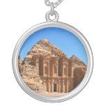 El Petra Jordania del monasterio Pendiente Personalizado
