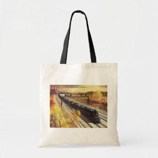 El petrolero del ferrocarril de Pennsylvania entre Bolsa Tela Barata