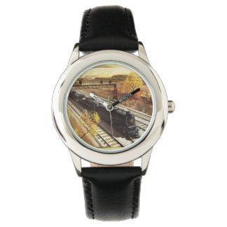 El petrolero del ferrocarril de Pennsylvania Relojes