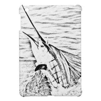 el pez volador poderoso iPad mini fundas