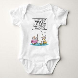 El Pharaoh dice que Moses debe ser Mameluco De Bebé