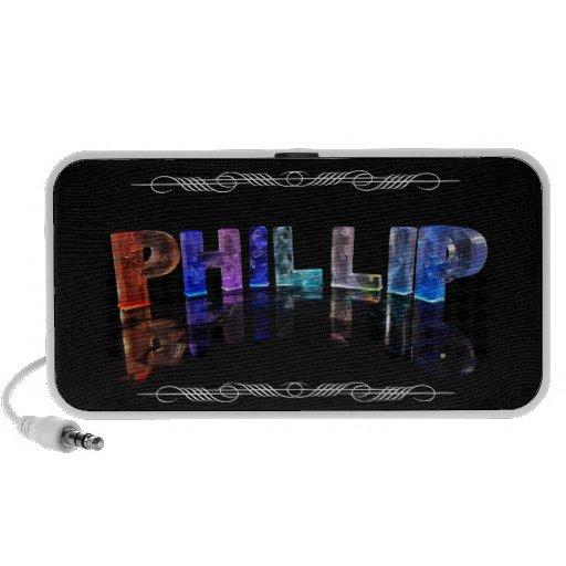 El Phillip conocido - nombre en las luces (fotogra Altavoces