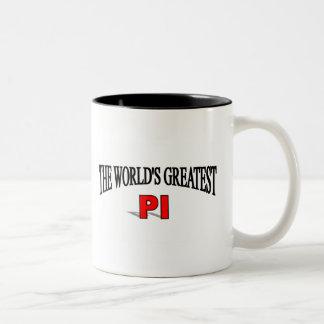 El pi más grande del mundo taza de café
