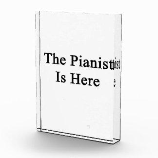 El pianista está aquí