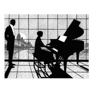 El pianista postales