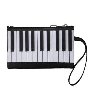 El piano blanco y negro cierra el embrague