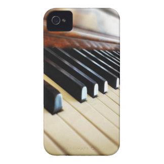 El piano cierra el caso del iPhone 4/4s de la músi iPhone 4 Cárcasa