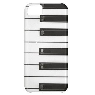 El piano cierra el caso del iPhone 5 de la identif