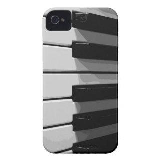 El piano cierra el caso del iPhone iPhone 4 Case-Mate Protector