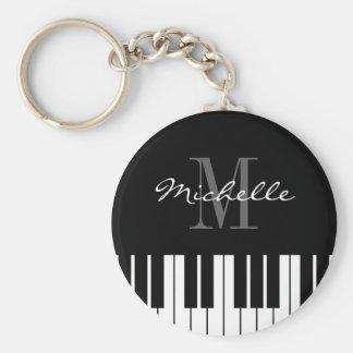 El piano cierra el llavero para los niños, el