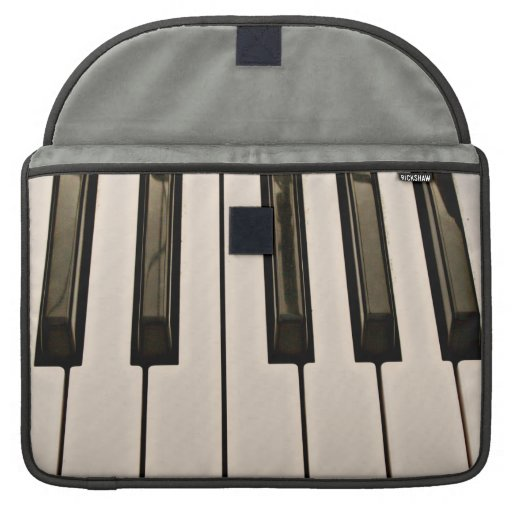 el piano cierra el teclado eléctrico de la aparien funda para macbook pro