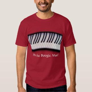 El PIANO CIERRA la camiseta del amante de la Poleras