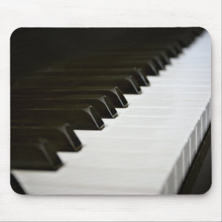El piano cierra la estera del ratón tapete de raton